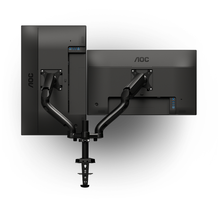"AOC AD110D0 Dual Arm 68,6 cm (27"") Negro"