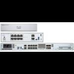 Cisco FPR1140-ASA-K9 hardware firewall 1U 2200 Mbit/s