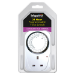 INFAPOWER Programmable 24 Hour Time Switch, White (X011)