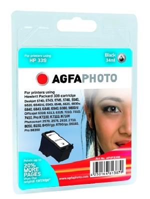 Compatible Inkjet Cartridge - Hp No339 - 34ml - Black