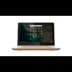 "Lenovo C330 Champagne Chromebook 29.5 cm (11.6"") 1366 x 768 pixels Touchscreen MediaTek 4 GB LPDDR3-SDRAM 32 GB eMMC Chrome OS"