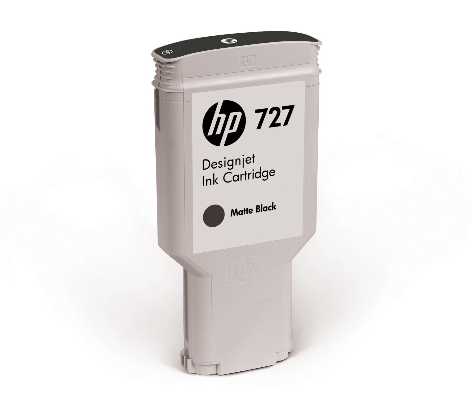 HP 727 Original Mat Zwart