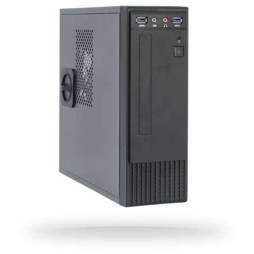 Chieftec FI-03B Low Profile (Slimline) 250W Black computer case