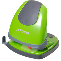 Rexel Lime Green Hole Punch