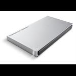 LaCie 500GB Porsche Design Slim P'9223 500GB Black,Silver external hard drive
