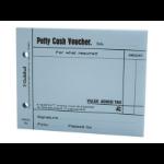 Guildhall Petty Cash Voucher Pad Blue PK5