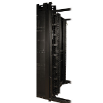 Tripp Lite SmartRack 3 in. Wide High Capacity Vertical Cable Manager - Double finger duct