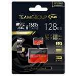 Team Group Group Xtreem 128GB Micro SDXC UHS-II U3, Read up to 250MB/s Write up to 100MB/s