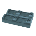 Datalogic SKORPIO multi battery charger Black