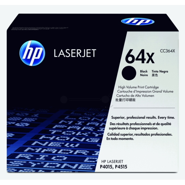 HP CC364X (64X) Toner black, 24K pages