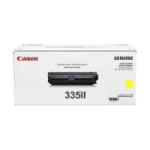 Canon CART335YH HIGH YELLOW TONER CARTRIDGE 16.5K TO SUIT LBP841CDN