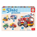 EDUCA Baby Early Learning Vehicles Jigsaw Puzzles, 5 Piece Set (14866)