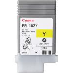 Canon PFI-102Y Origineel Geel