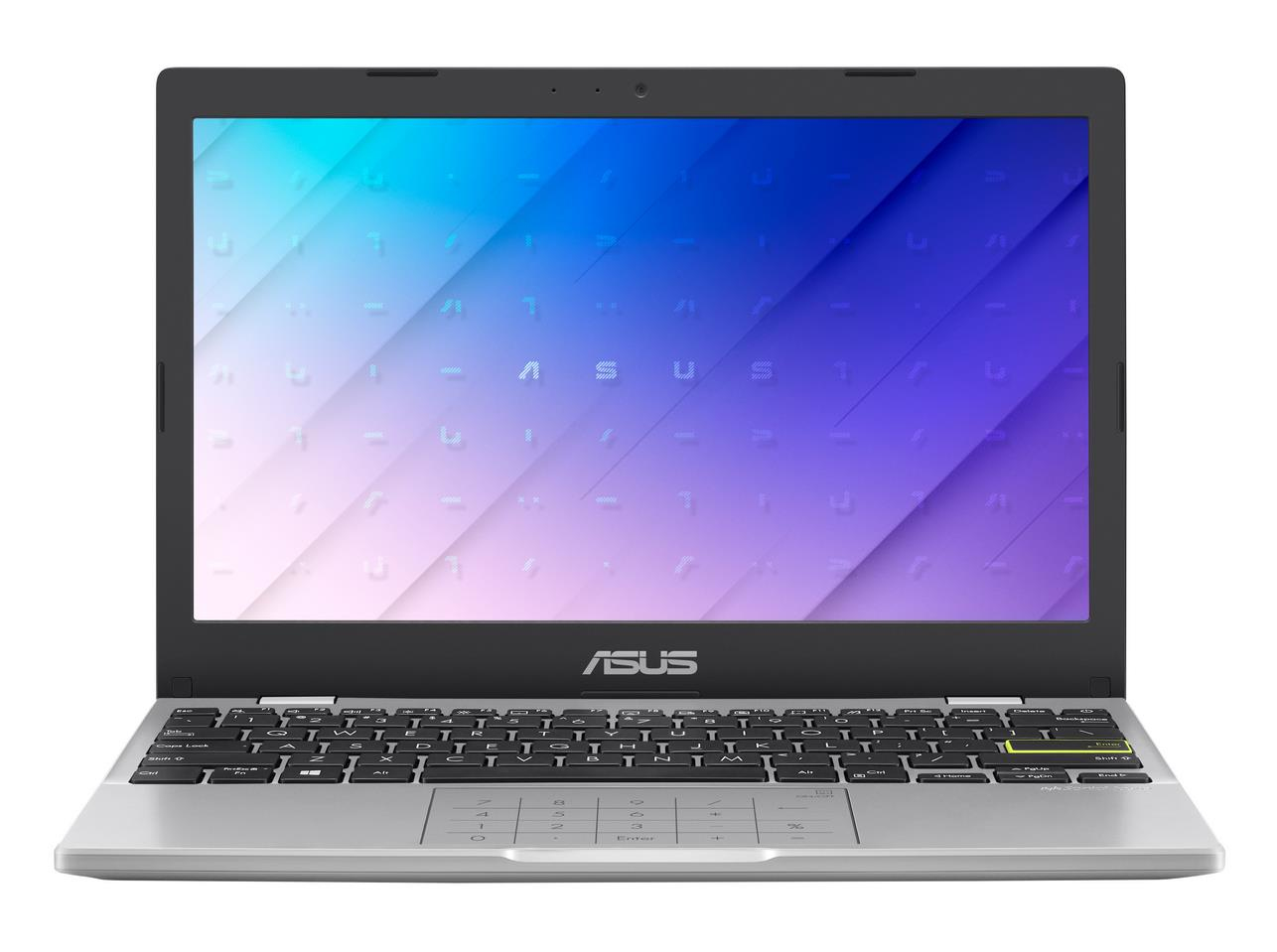 "ASUS E210MA-GJ003TS notebook White 29.5 cm (11.6"""") 1366 x 768 pixels Intel® Celeron® N 4 GB DDR4-SDRAM 64 GB eMMC Wi-Fi 5 (802.11ac) Windows 10 Home S"