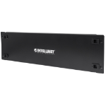 "Intellinet 19"" Blank Panel, 3U Cover for Unused Space in 19"" Cabinet, Metal, Black"