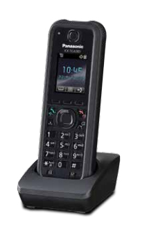 Panasonic KX-TCA385 telephone handset DECT telephone handset Black