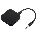 Hama 00137473 Bluetooth audio transmitter 3.5 mm 10 m Black