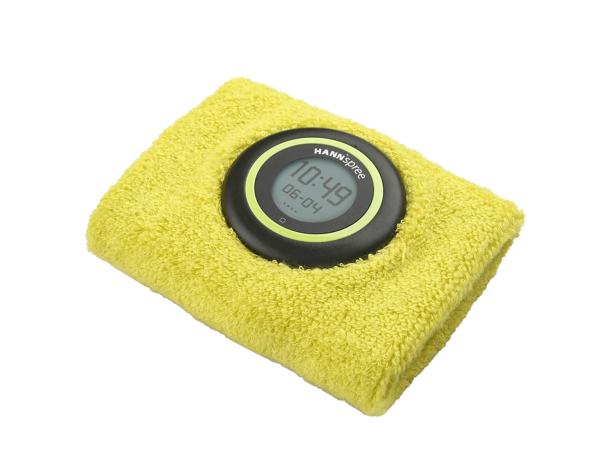 "Hannspree SW49ST11 Wristband activity tracker 0.9"" Black,Green,Orange activity tracker"