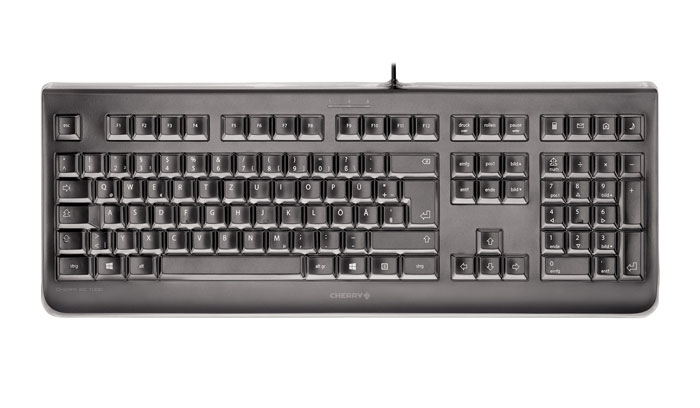 CHERRY KC 1068 keyboard USB Spanish Black