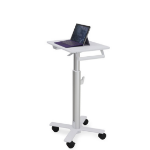Ergotron StyleView S-Tablet Cart, SV10 Multimedia cart Aluminium,White
