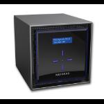 Netgear ReadyNAS 424 Ethernet LAN Desktop Zwart NAS