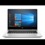"HP ProBook x360 435 G7 Hybrid (2-in-1) 33.8 cm (13.3"") 1920 x 1080 pixels Touchscreen AMD Ryzen 5 8 GB DDR4-SDRAM 256 GB SSD Wi-Fi 6 (802.11ax) Windows 10 Pro Silver"