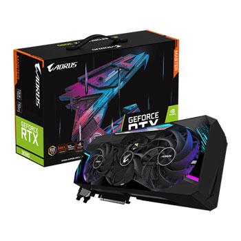 Gigabyte GPU NV 3080 AORUS MASTER 10G Fan