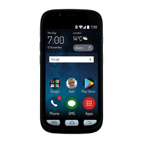 "MaxCom MS459 11.4 cm (4.5"") 2 GB 16 GB Single SIM Black 2200 mAh"