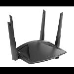 D-Link DIR-X1860 router inalámbrico Gigabit Ethernet Doble banda (2,4 GHz / 5 GHz) Negro