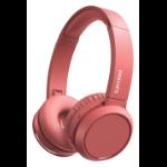 Philips 4000 series TAH4205RD/00 headphones/headset Head-band Red