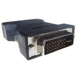 CONNEkT Gear 26-1654 cable interface/gender adapter VGA DVI-I Black