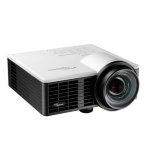 Optoma ML750ST Portable projector 800ANSI lumens DLP WXGA (1280x720) 3D Black data projector