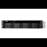 QNAP TS-831XU NAS Rack (2U) Ethernet LAN Black, Grey