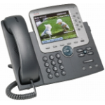 Cisco Unified IP Phone 7975G Black, Silver Caller ID