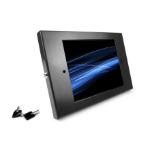 """Compulocks 101B260ENB tablet security enclosure 9.7"""" Black"""
