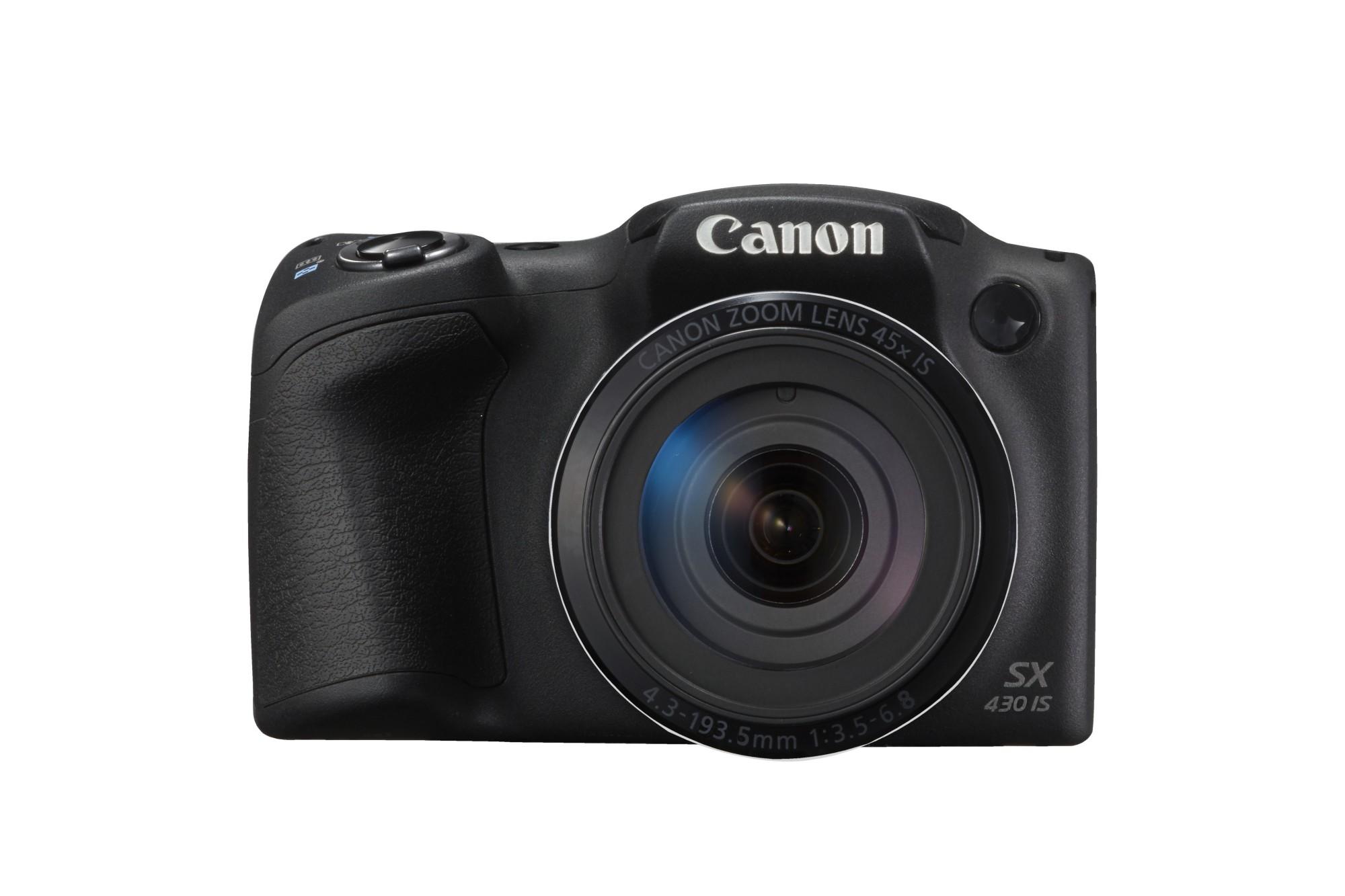 """Canon PowerShot SX430 IS Cámara puente 20,5 MP CCD 5152 x 3864 Pixeles 1/2.3"""" Negro"""