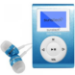 Sunstech DEDALOIII Reproductor de MP3 Azul 4 GB
