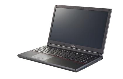 """Fujitsu LIFEBOOK E556 2.3GHz i5-6200U 15.6"""" 1366 x 768pixels Black,Red Notebook"""