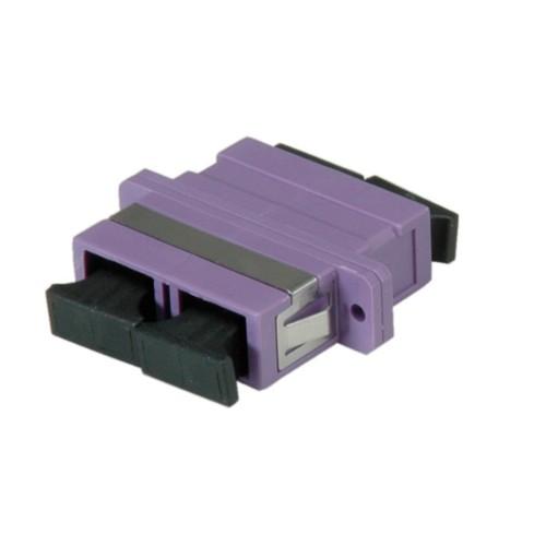 Value SC/SC Duplex, OM4 PB fibre optic adapter