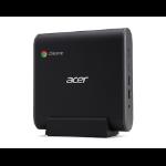 Acer Chromebox CXI3-I38GKM2 8th gen Intel® Core™ i3 i3-8130U 8 GB DDR4-SDRAM 64 GB Mini PC Black Chrome OS