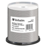 Verbatim CD-R Thermal Printable No ID Brand CD-R 700MB 100pc(s)