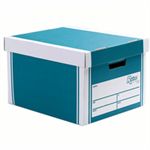 Bankers Box Bankers Box Premium Storage Box Tall FSC Green and White [Pack 12] [12 for the price of 10] Ref 7260