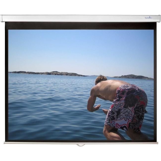 Sapphire - Value - 146cm x 110cm - End Cap Brackets Manual Projector Screen