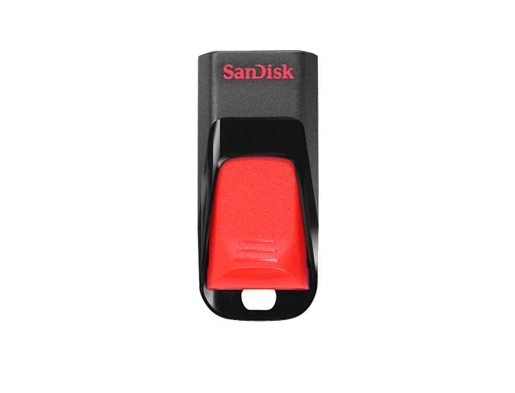 Sandisk Cruzer Edge, 32GB USB flash drive USB Type-A 2.0 Black,Red