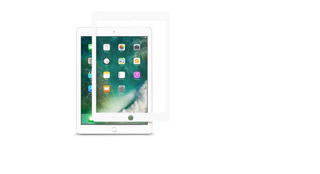 "Moshi iVisor AG Anti-glare screen protector iPad (2017), iPad Pro (9.7""), iPad Air 2 White (Clear/Matte)1 pc(s)"