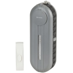 Generic High Volume Wireless Door Bell with Strobe for the Hearing Impaired