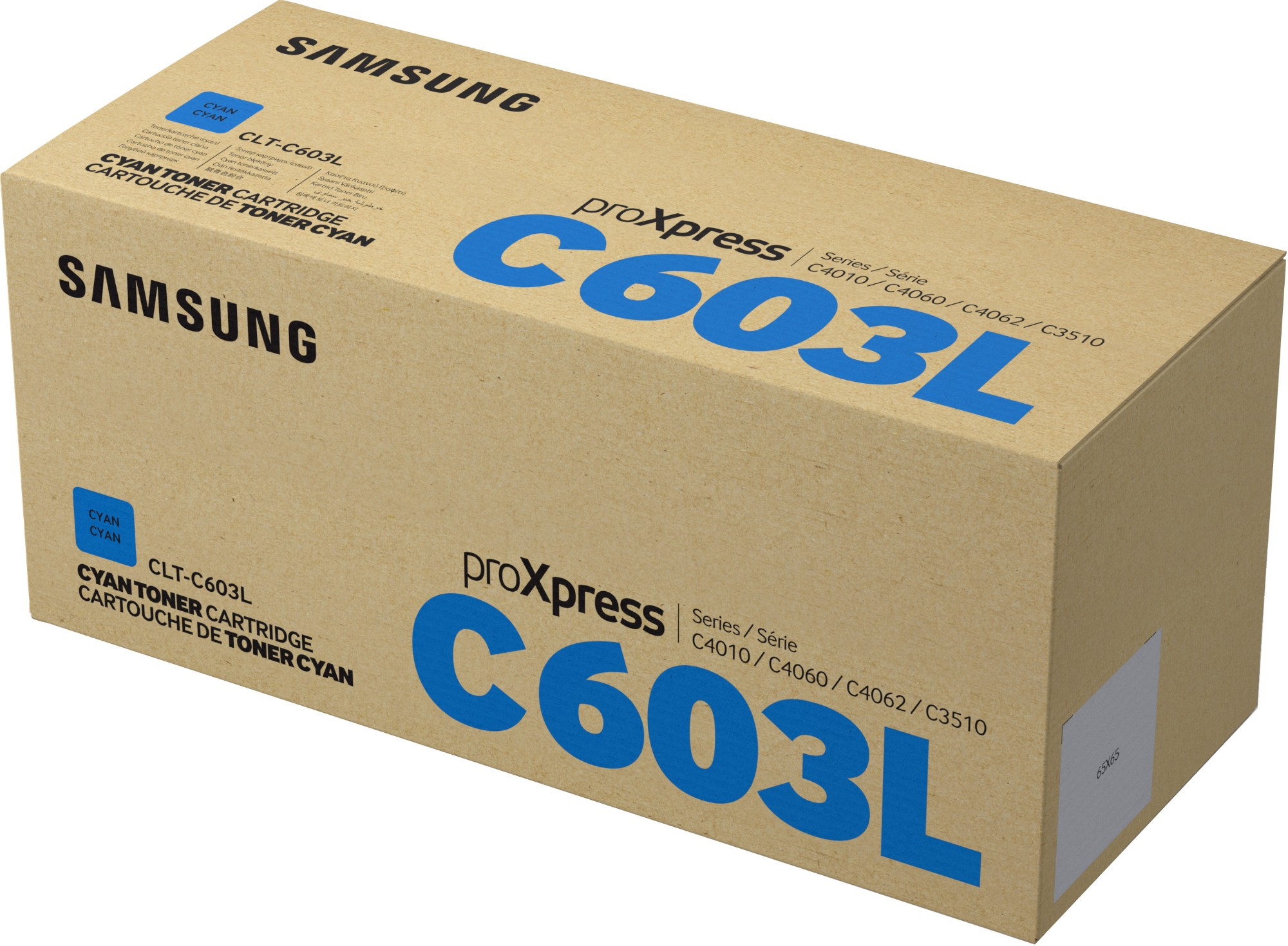 Samsung CLT-C603L Original Cian 1 pieza(s)