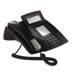 AGFEO ST 42 Analog telephone Caller ID Black