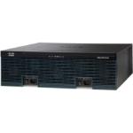 Cisco 3945 wired router Gigabit Ethernet Black, Grey