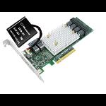 Microsemi SmartRAID 3154-24i RAID controller PCI Express x8 3.0 12 Gbit/s